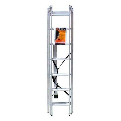 ЛА 3х8 Вихрь Лестница алюминиевая трёхсекционная  8 ступений