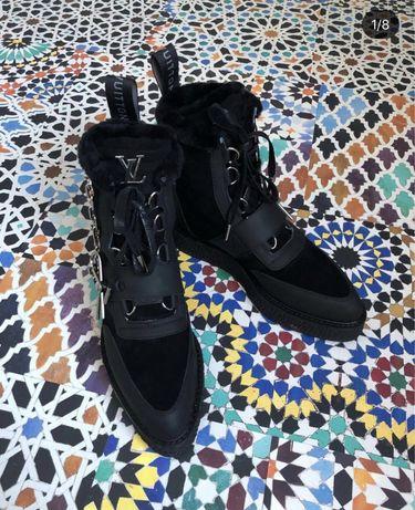 Зимние ботинки под LV