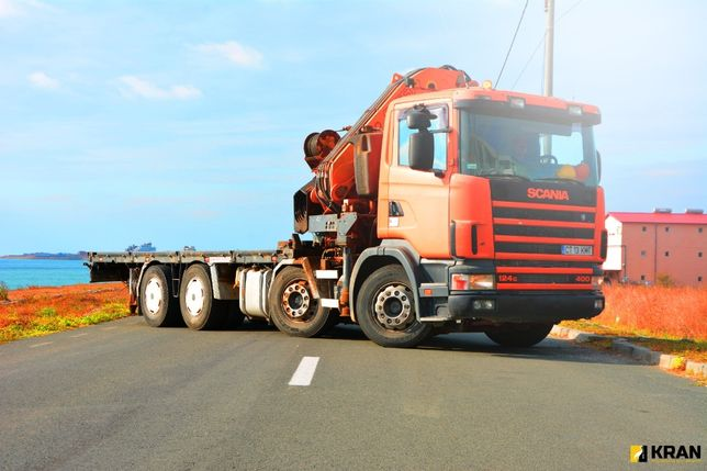 Inchiriez camion cu Macara / Stivuitor Teren / Generator 380V / Nacela