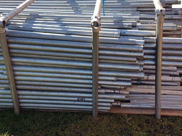 Structura metalica teava galvanizata zincata + coturi / fitinguri