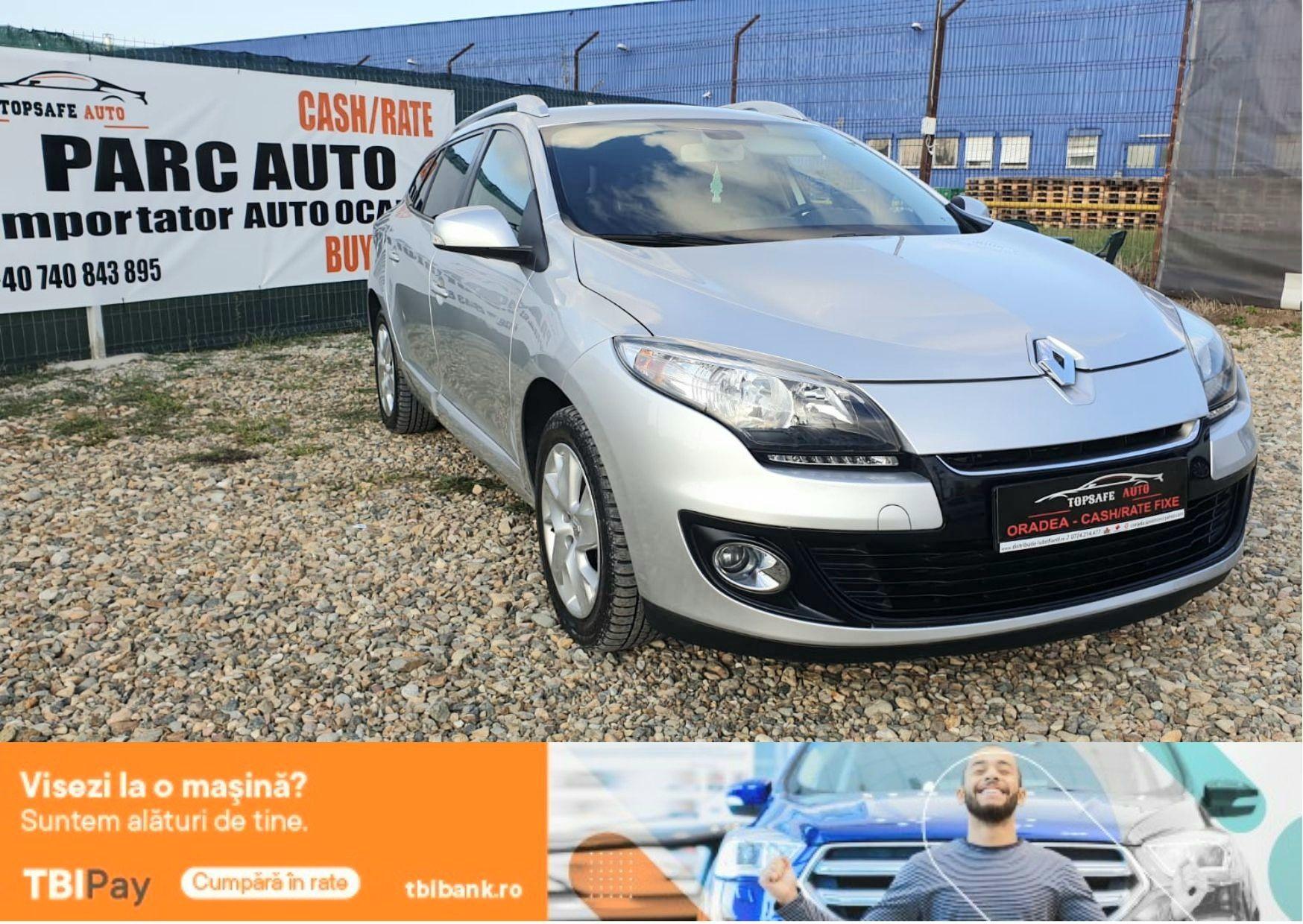 Renault Megane 3 2013  1.2TCE 116CP ,NAVIGATIE ,Rate FIXE,GARANTIE