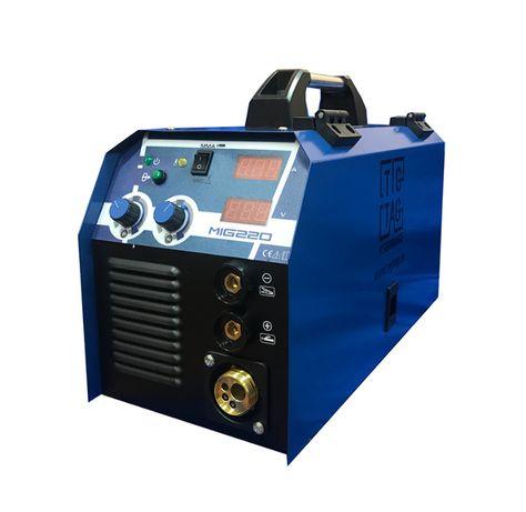 Телоподаващо електрожен с евро шланг 3 метра МИГ220 с бутилка за газ