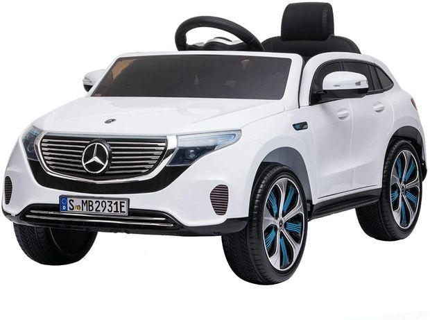 Masinuta electrica Kinderauto Mercedes EQC400 70W 12V #Alb
