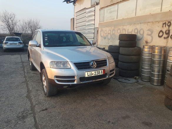 Volkswagen Touareg V10 5.0 tdi на части