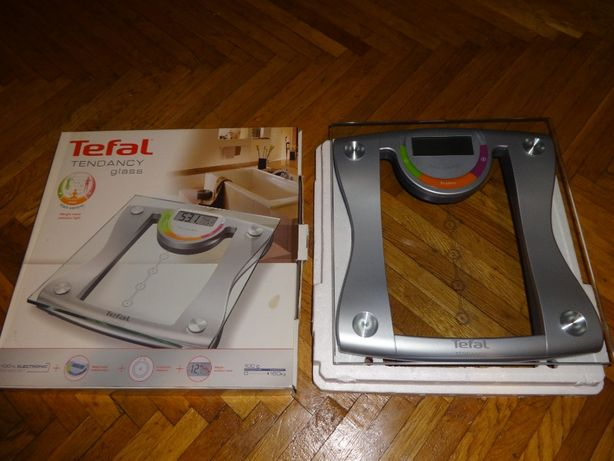 TEFAL Tendency Glass PP 7049, Cantar Electronic cu 4 Memorii. NOU