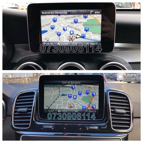 SD Card Mercedes Garmin Map Pilot Harti Navigatie 2020 C E GLC GLE