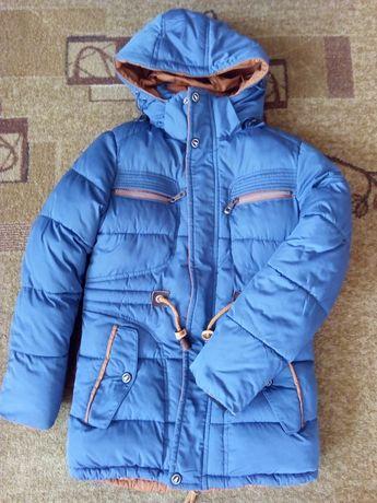 Куртка зим. на 10-11 лет