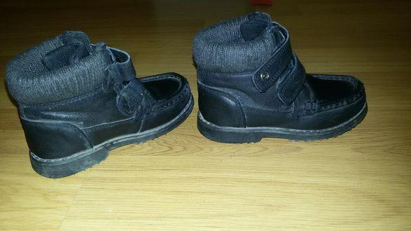 Естествена кожа обувки боти Marks & Spencer - Номер 25/ UK C8
