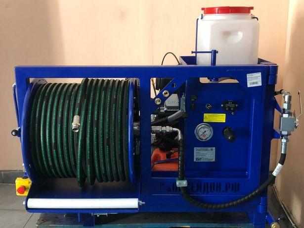 Аппарат высокого давления прочистка промывка канализации