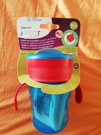 Преходна чаша с дръжки 360 градуса Philips Avent