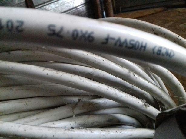 Cablu H05VV-F 9 × 0.75