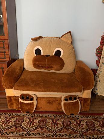 Детская раскладная кровать-диван