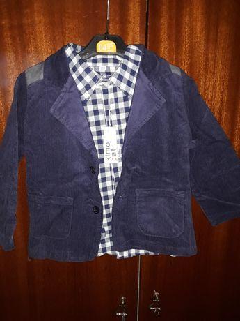 Детско сако с риза