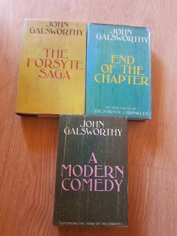 Seria The Forsyte Saga in engleza