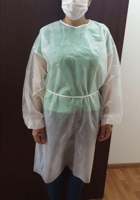 Halat de protectie de unica folosinta din polipropilena 40gr/mp