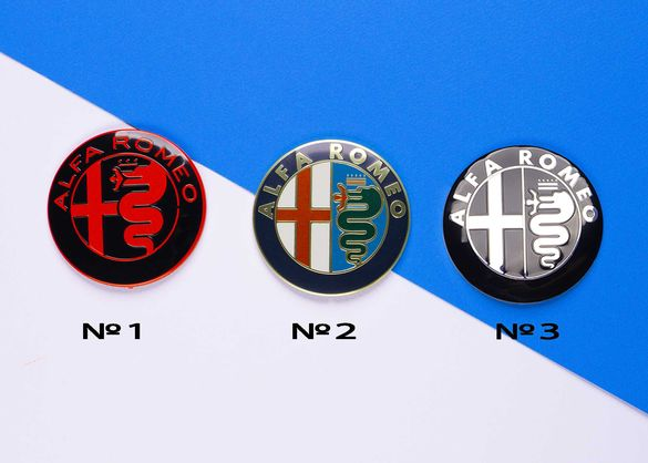 Емблема за Alfa Romeo / Алфа Ромео 147, 156, 159 капачки за джанти