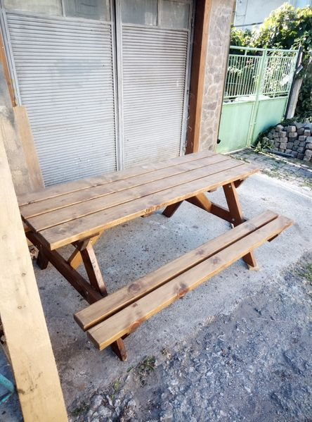Маса за пикник с. Дърманци - image 1