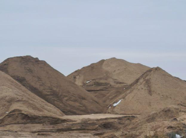 Песок с места, крупный мытый