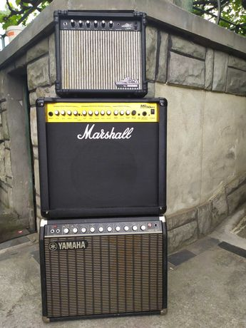 Кубе за китара Yamaha , Marshall , Hohner .