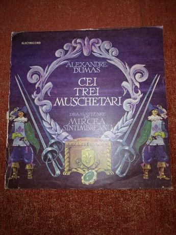 Alexandre Dumas Cei trei muschetari 2x disc vinil vinyl