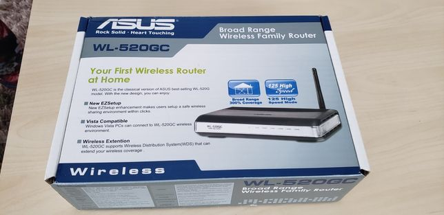 Router wireless ASUS WL-520GC