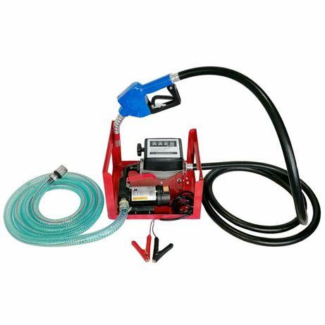 Pompa transfer motorina 12v cu contor pistol +filtru motorina