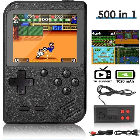 Mini Consola de jocuri Retro Game 500 in 1 - DigitCont - Noua Sigilat