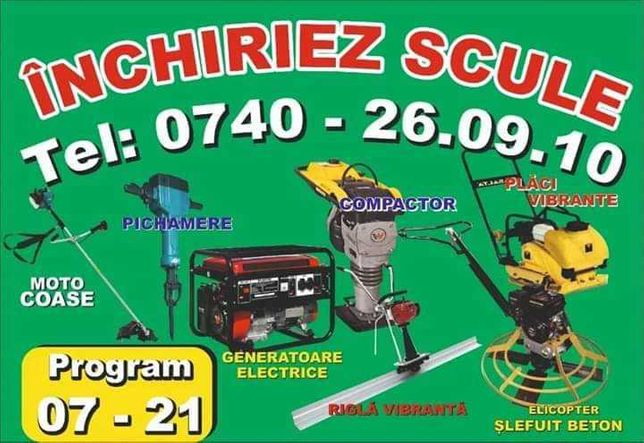 Generator de curent cu sudura de inchiriat