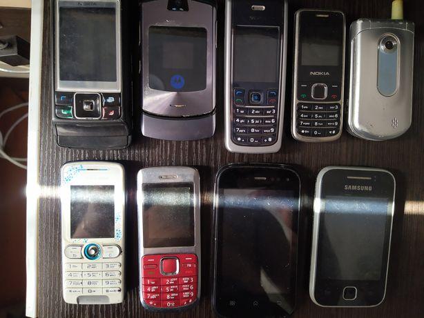Продам старые сотовые телефоны