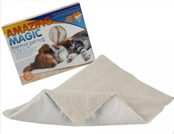 Термичен килим за кучета и котки !