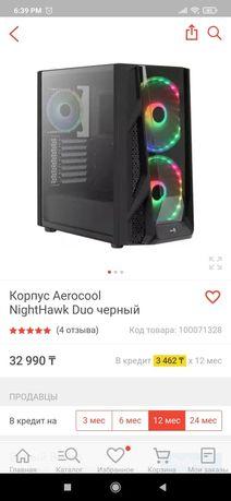 Корпус aerocool nighthawk