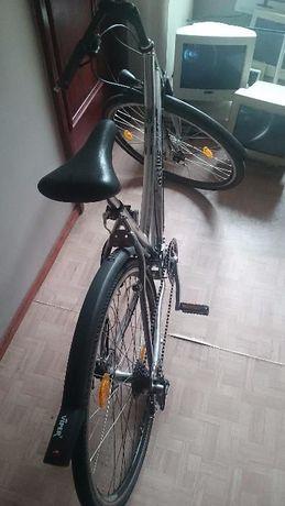 bicicleta cadru aluminiu 24 viteze frana disc fata spate