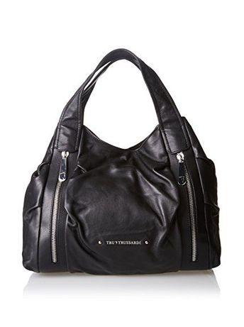 TRU TRUSSARDI дамска чанта -естествена кожа