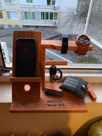 Стойка/ поставка за телефон , ключове, часовници и др.