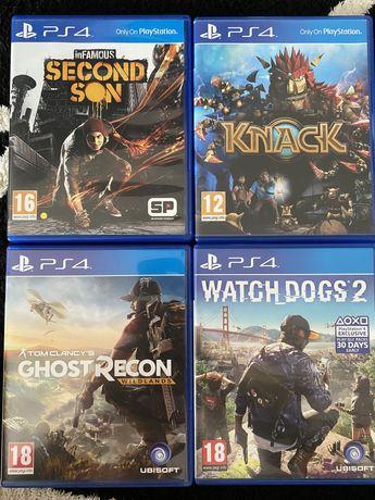 Jocuri consola PS 4, diferite titluri, lichidare