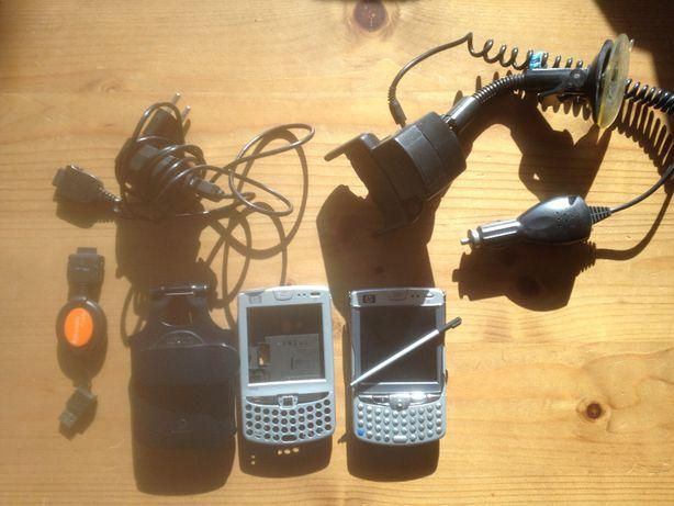HP IPAQ, telefon+GPS igo