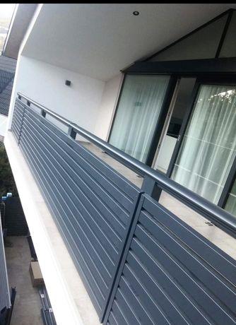 Balcon modern fier