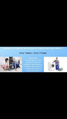 Firma autorizată reparații frigidere și utilaje frigorifice!