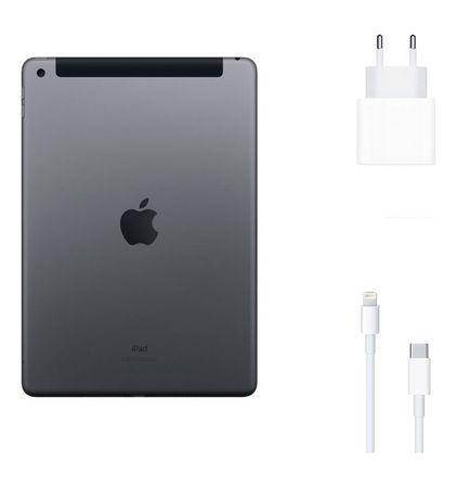 Планшет Apple iPad 2020г , 10.2. 32Gb Wi-Fi + Cellular серый
