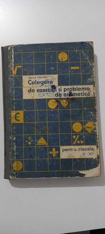 Culegere de exercitii si probleme de aritmetica pt cl V-VII