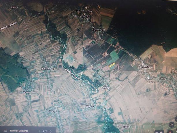 Teren 10.000 mp in Bratesti,jud.Prahova