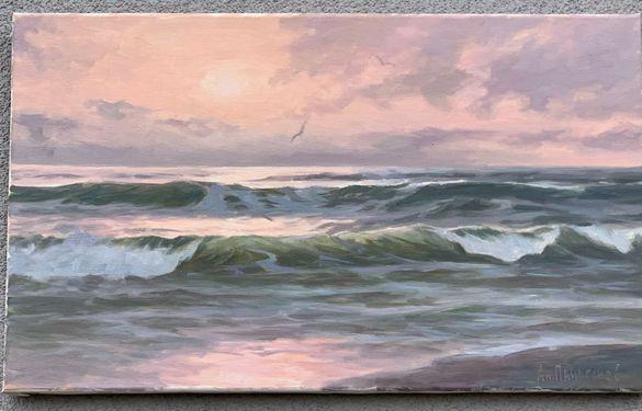 Картина морски пейзаж от Анатолий Панагонов