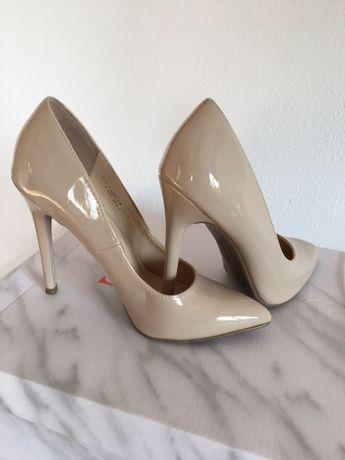 Pantofi stiletto nude NOI, marimea 36