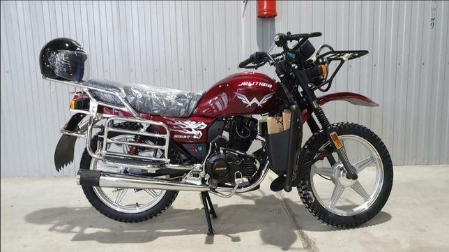 Мотоцикл тікелей зауыттан