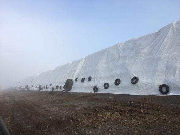 Брезент покривало за слама сено бали автомобили кошари