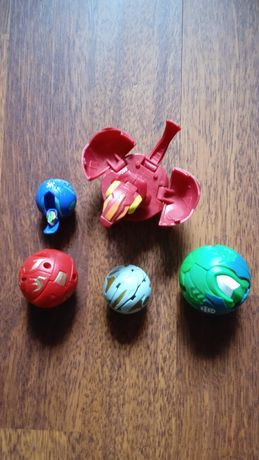 Lot figurine Bakugan