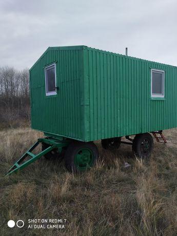 Продам жилой полевой вагон на колесах