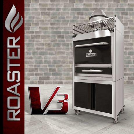 Josper / Roaster - Cuptor carbune profesional, Cuptor pe carbuni fonta