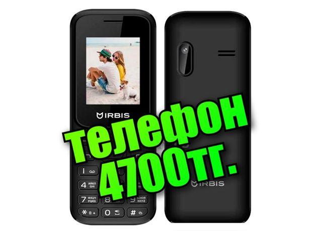 Новый телефон IRBIS с камерой, 2sim, Самые низкие цены в Караганде!!!