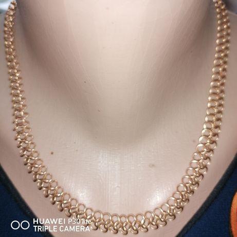 Bijuterii aur colier plus brățară